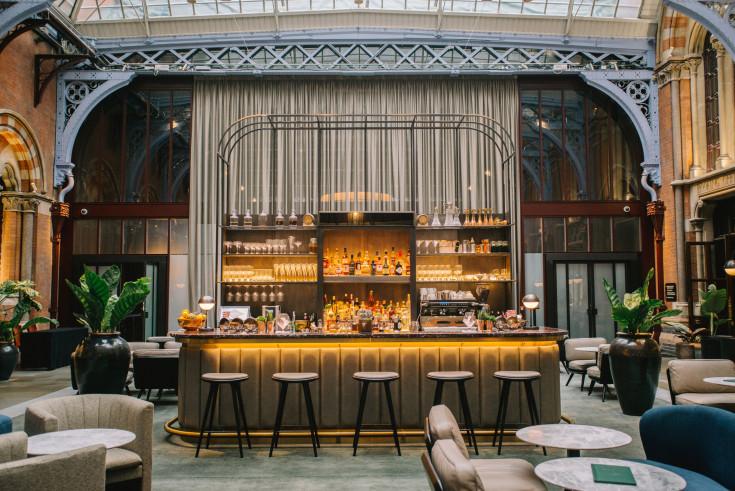 Marriott Iconic St Pancras Renaissance Hotel Launches Destination Bar Celebrating Its British Heritage